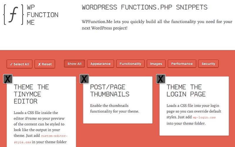 WPFunction